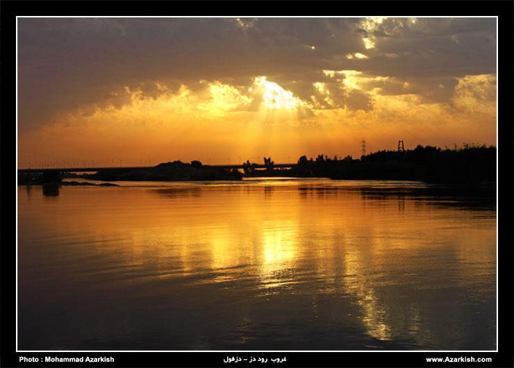 dezful_roode_dez_sunset